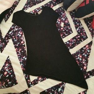 Assymetrical tunic top